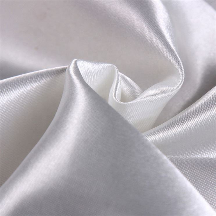 Satin lining fabric/plaid satin fabric/soft satin fabric