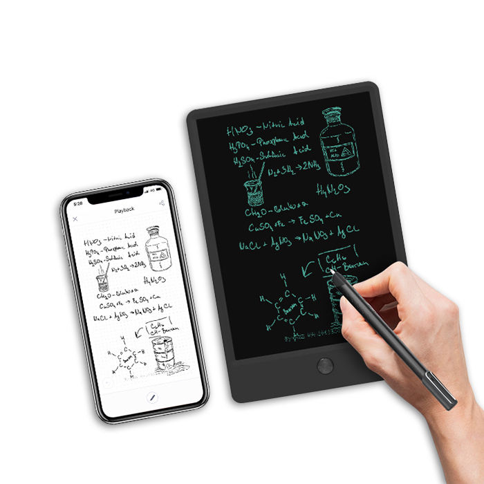 Newyes Nieuwe 9 Inch Cloud Storage Notebook Digitale Notepad Smart Pen Sync Lcd Schrijfblad