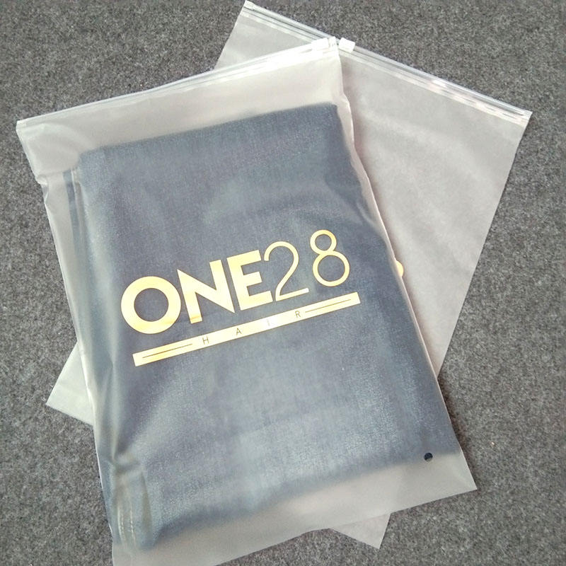 100% Biodegradable Packaging Plastic Bags Swimwear Clothes, Ziplock PE Tshirt Bag Zipper Polybags Garment Plastic Bag With Logo