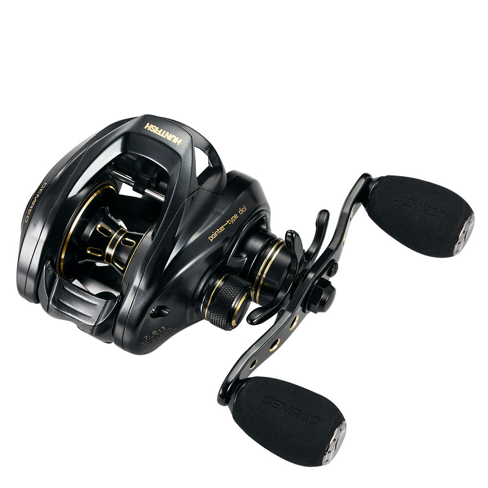 HanHigh penn fishing reels saltwater 7.2:1 13+1BB sealed saltwater bait casting fishing reel