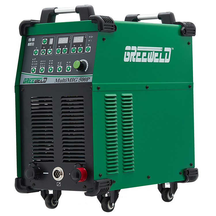 Yueda Euro Standard Interface 380V Water Cool 500AMP MIG Pulse Welding Machine/Stainless Steel Aluminium Welder