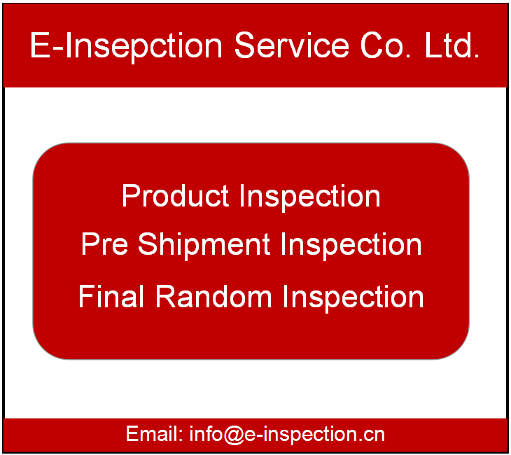China CCIC SGS inspektion agent Video dritte schluss pre-shipment Inspection Service