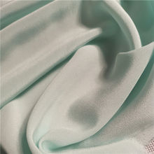 Custom Plain Dyed Crepe Fabric 16MM Crepe De Chine Silk Fabric 100% Pure
