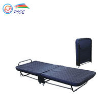 Hotel Metal Single Rollaway Extra Bed Folding Bed