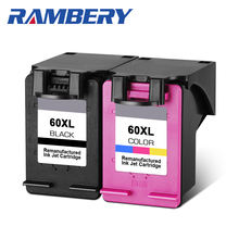 RAMBERY refill Ink cartridge 60XL for hp60xl Replacement hp 60 xl Deskjet F2480 F2420 F4480 F4580 F4280 D2660 D2530 D2560