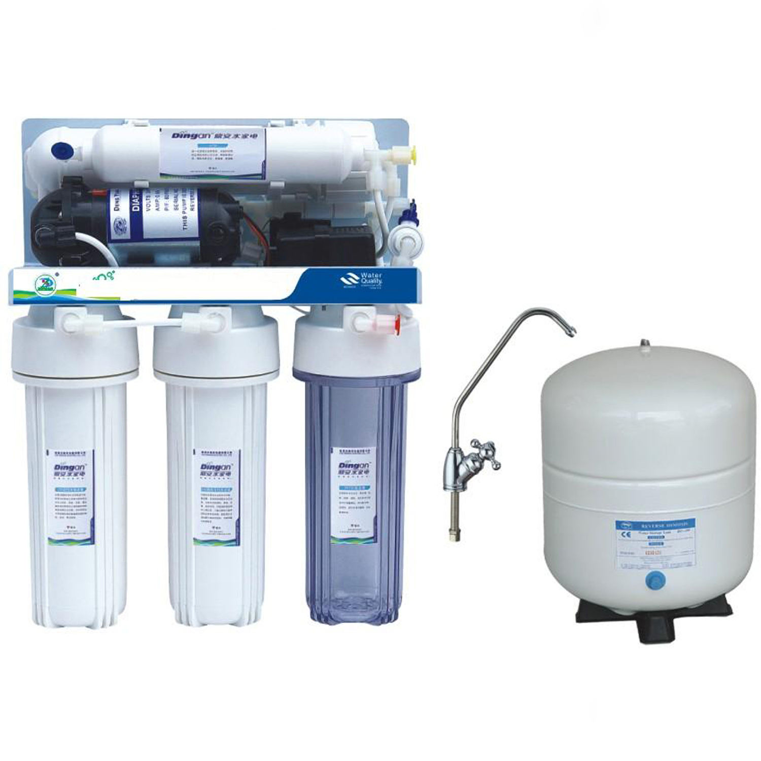 good price reverse osmosis filtration water purifier for home water filter machine RO system