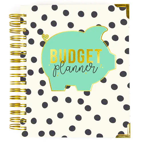 Custom Printing A5 Notebook Budget Planner Organizer mit Personalized Accessories, Envelopes und Wallets