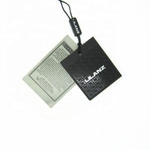 Paper Custom Swing Tags Clothing Hangtag