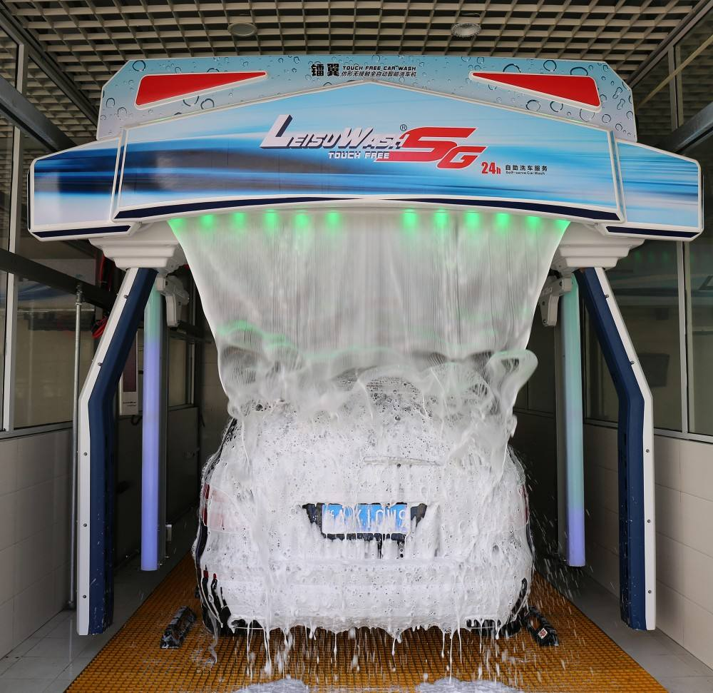 Automatische Touchless 3D Carwash 360 Apparatuur Hoogste Grade Model Sg