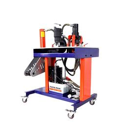 Multifunction Safety Low Noise Portable Copper Hydraulic Busbar Cutting Punching Bending Machine