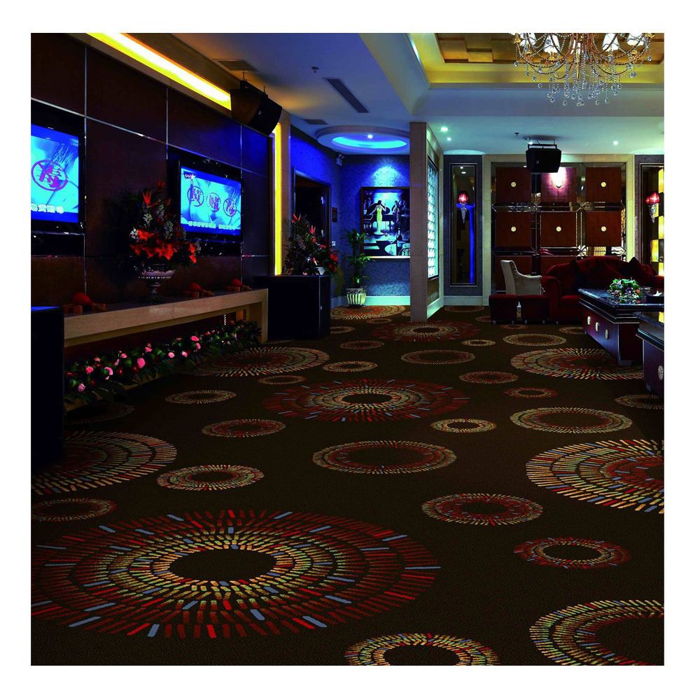 High Quality Machine Plus Wall to Wall Carpet Factory Wholesales Commercial Hotel Home Office Wilton Axminster Carpet