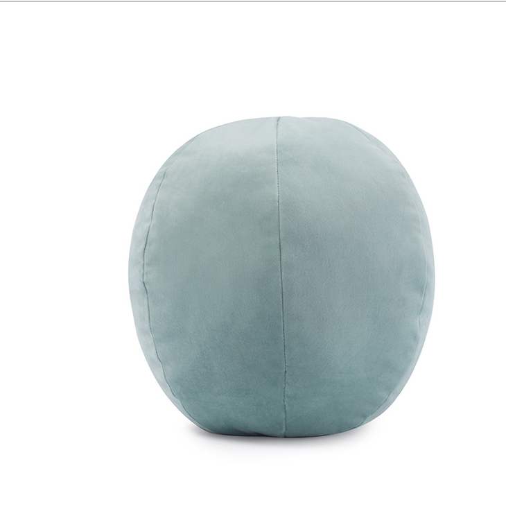 wholesale new cushions for home decor diameter 30cm velvet round cushion ball