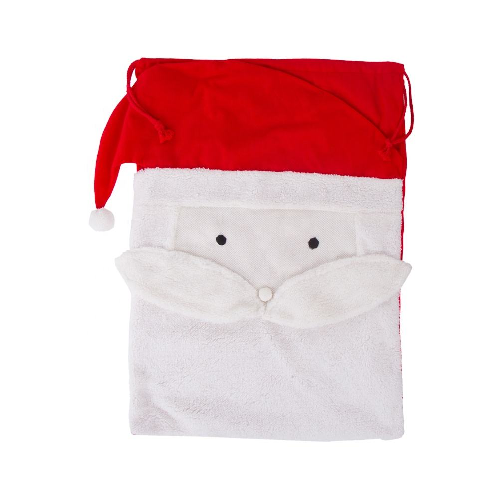 Personalized Hot Selling Monogram Ethan Sherpa Santa Sack