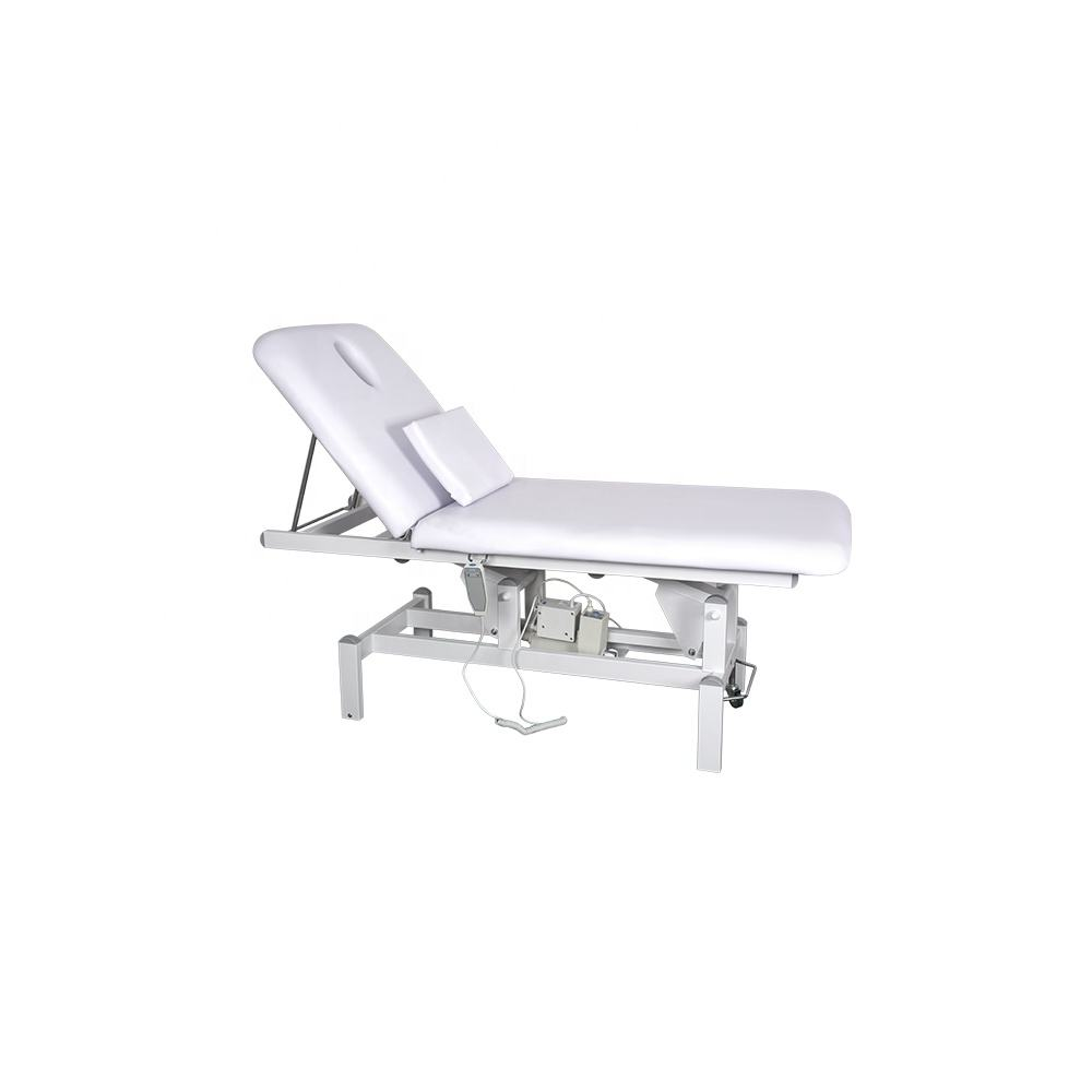 2-Motor Electric Facial Beauty Bed Electrical Salon Spa Massage Table