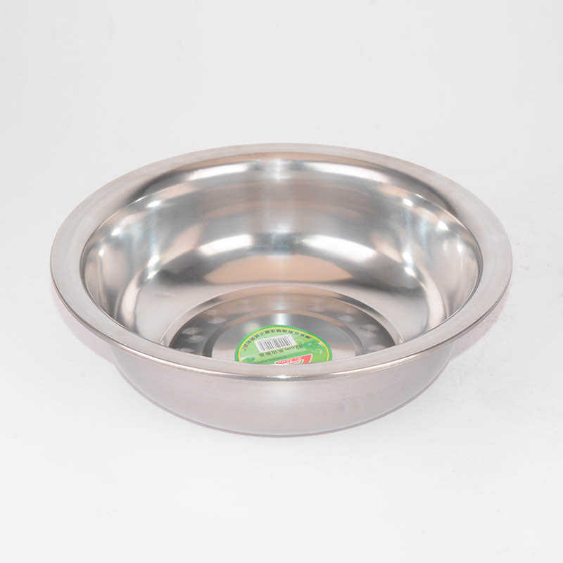 Wholesale high quality stainless steel soup basin multifunctional metal mixing bowl for kitchen