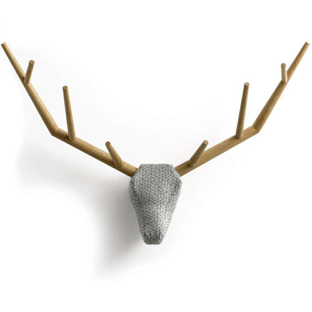 Multifunctional Animal Deer Head Hanging Hooks Home Wall Decor