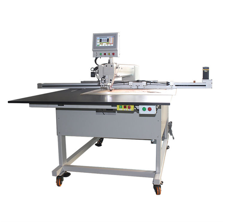 Industrial full Automatic Oil-Free CNC Template Pattern Computerized long bed sewing machine Process Sewing Machine