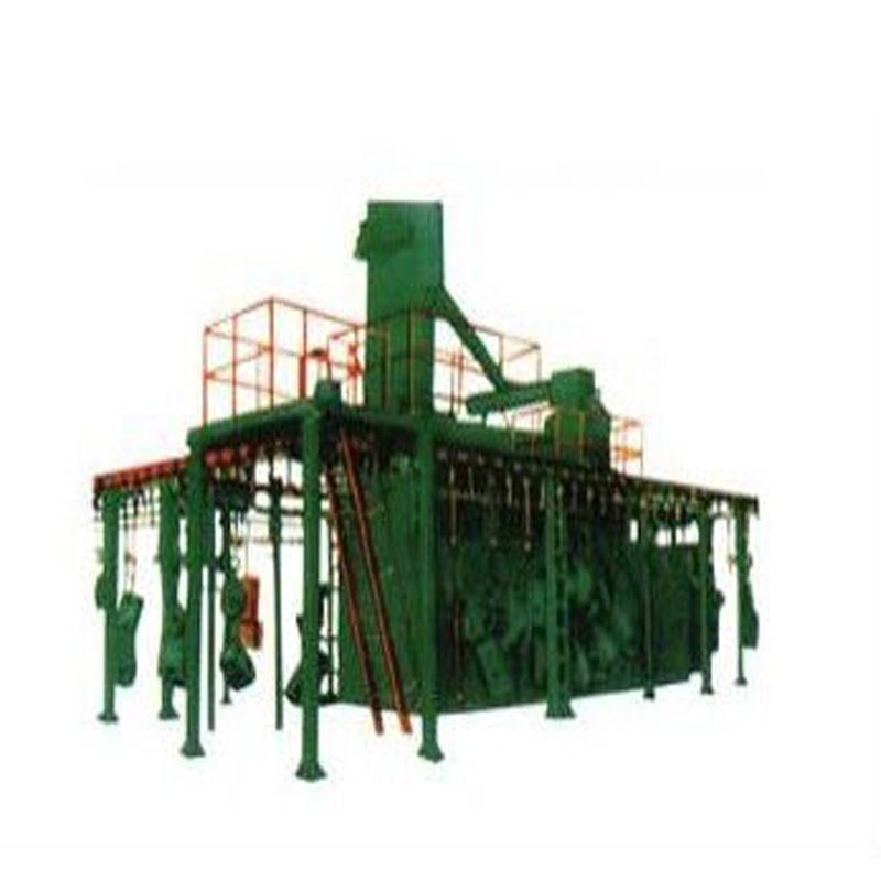 Promotional Factory Price High Pressure Centrifugal Die Casting Hook Type Shot Blasting Machine