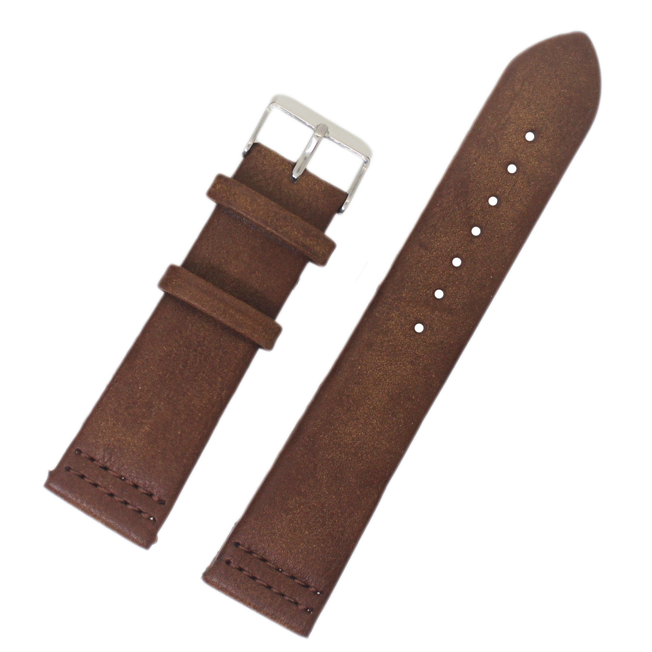 handmade ready sale good market vintage printing Wholesale pin skin cheap pu leather watch band strap