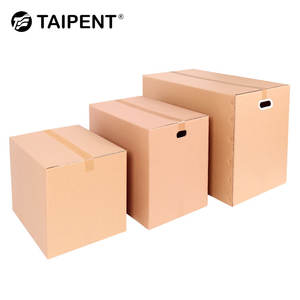 Large Shipping Customized Brown Corrugated Cardboard Packing Paper Carton Box Brown For Sale