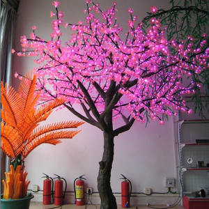 Holiday lights LED blossom cherry tree