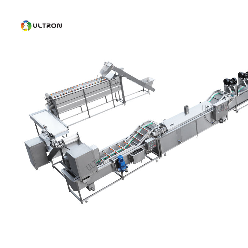 300kg/h best price frozen french fries /potato chips production line