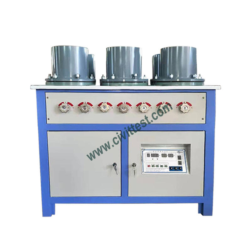 Digital 6 Place Scale Concrete Water Penetration Water Impermeability Apparatus