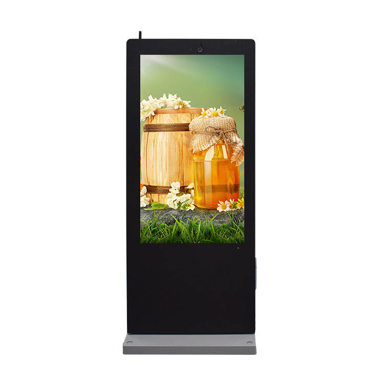 2020 New design 55 inch waterproof outdoor advertising lcd display digital signage
