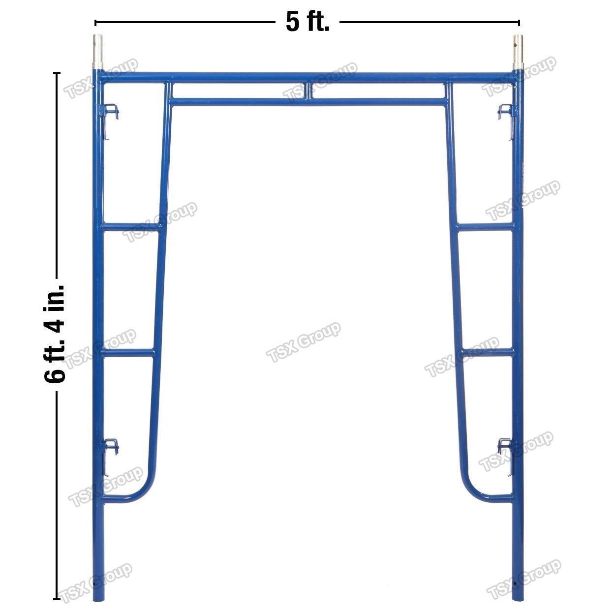 powder coated steel frame scaffolding v lock pin steel tower scaffold