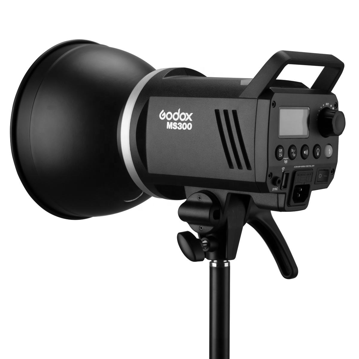 Godox MS200 200W / MS300 300W 2.4G Built-in Wireless Receiver Lightweight Compact and Durable Bowens Mount Studio Flash