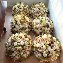 F 1706 OEM Centerpieces Wedding Table Peony Artificial Flower Balls