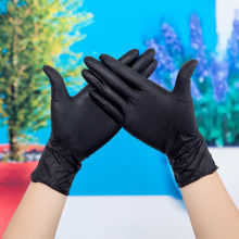 100pcs/box Surgical supplies Cheap price Disposable Nitrile Medical Gloves black gloves