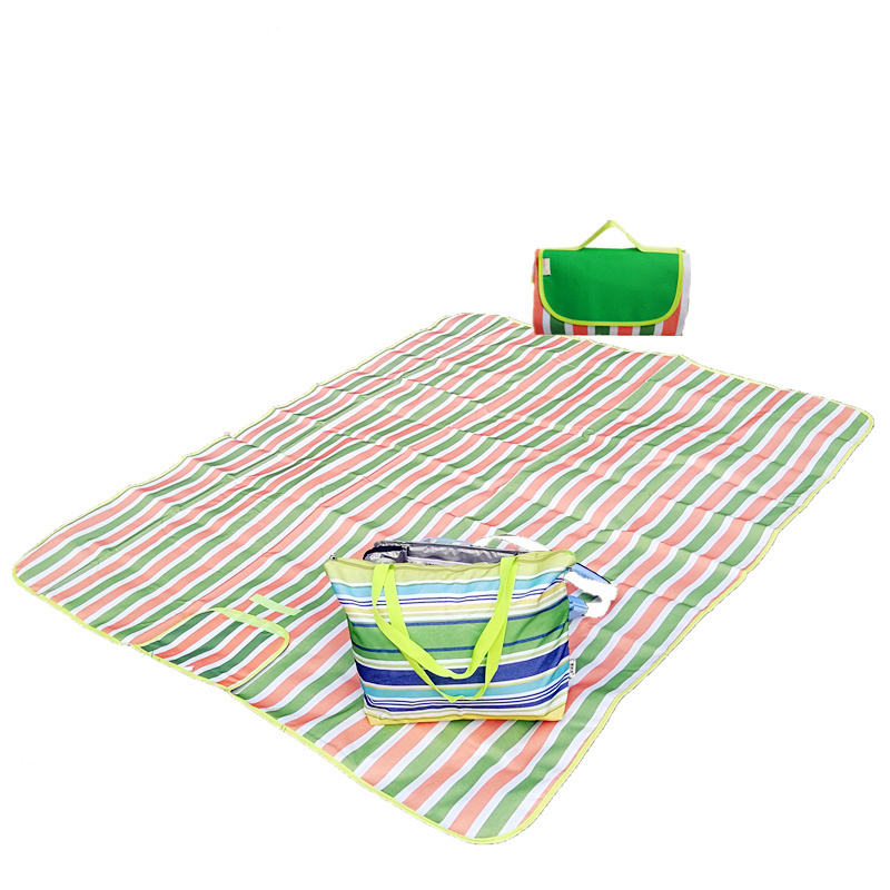 Venta al por mayor WaterproofDurable portátil poliéster Picnic Mat