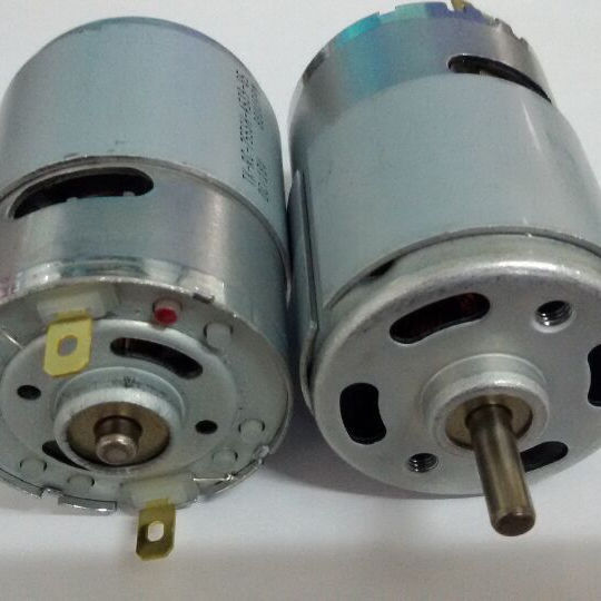 Hight speed 8800rpm Tubular dc motor TK-755VC-4539 18v for control curtains