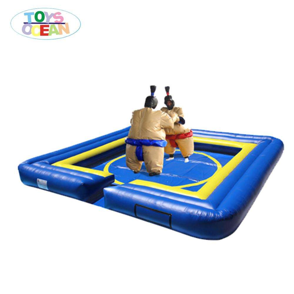 Adults Inflatable Twin Sumo wrestling suits set for interactive game