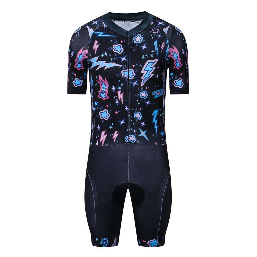 Wholesale Custom Triathlon Cycling Jersey Tight Suit Mens One Piece Compressed Bicycle Sports Clothes Riding Clothing Set