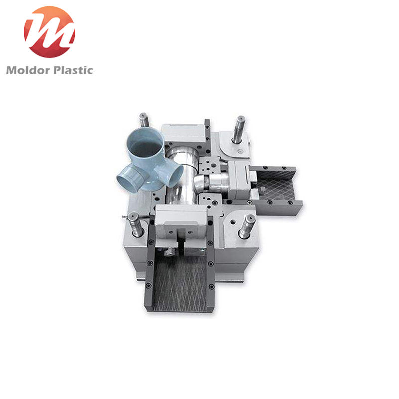 Plastic injection PVC / PPR / PP pipe fitting mould china manufacturer in Zhejiang