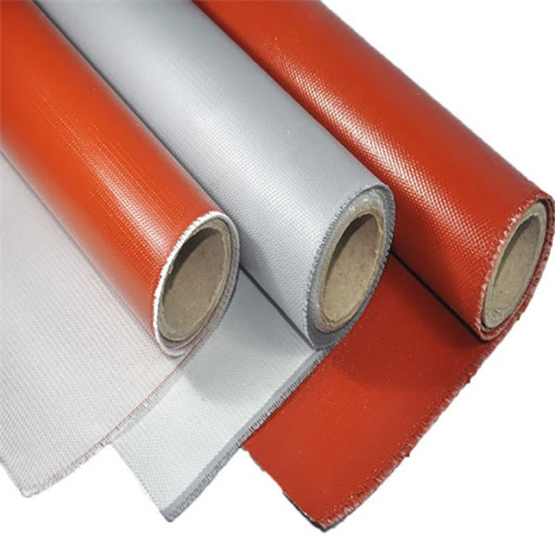 Silicone Rubber Coated Fiberglass Cloth Fabric for Fabric expansion joint
