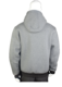 man's hoodie outdoor air layer knit fabric