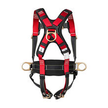 Fall protection 5 points adjustable super light full body safety harness belt for sale