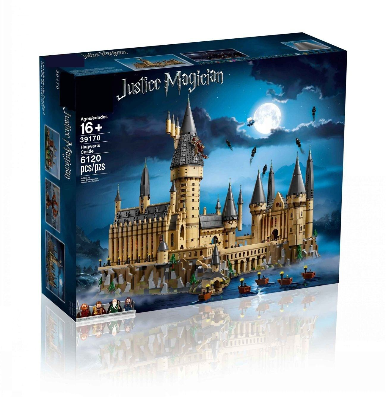 2020 hot 6120PCS Hogwarts Harry castle Series Model Building Blocks Legoing Toys For Children Interesting Gifts