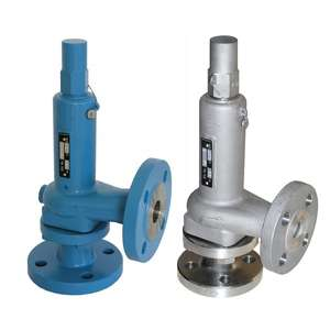 DIN Flanged A44E Spring Safety Pressure Relief Valve for steam