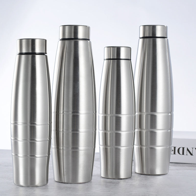 sparkle stainless steel fridge water bottle refresh sporty thermal stainless steel flask