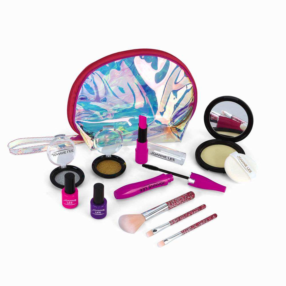 Amazon kids cosmetics games kit dressing make up plastic toy makeup set for girls