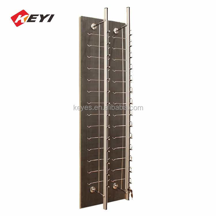 Custom Eyeglasses Shop Wall Mounted Display Sunglasses Fixture,Optical Frames Display Stand