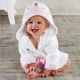 Flannel Cute Print Cartoon Design Children Microfiber Breathable Kids Baby Bathrobe 2020 New