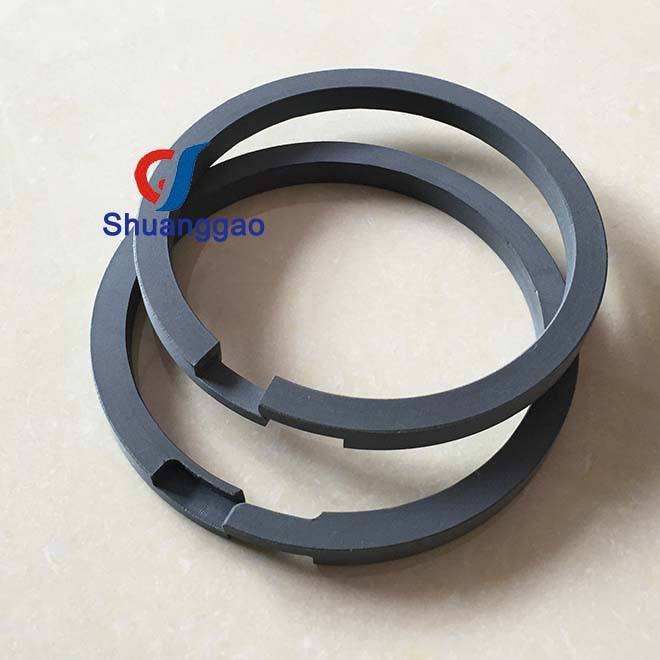 Custom Factory piston ring per alternativo gas compressore