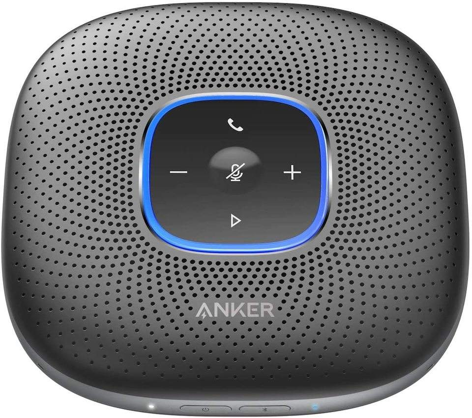 for Anker PowerConf Speakerphone powerConf Speakerphone with 6 Microphones For Home Office