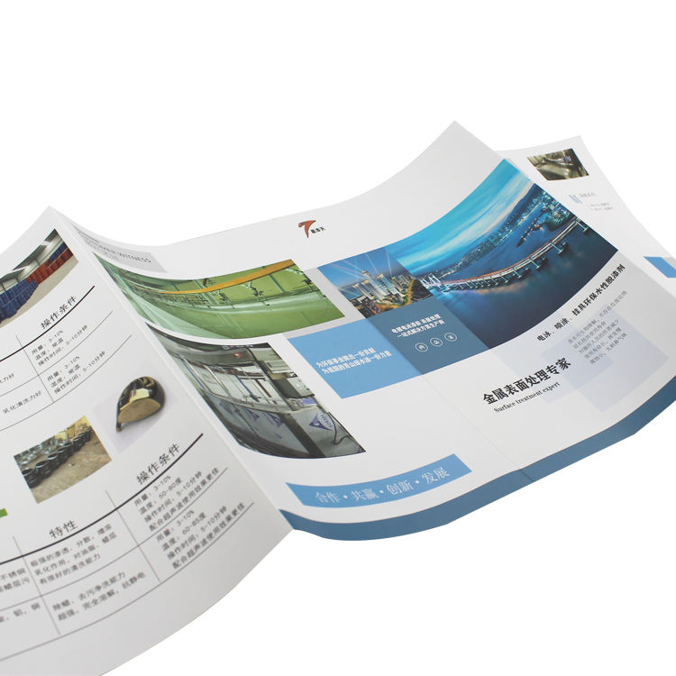OEM Customized Brochure Company Manual Book Leaflet Booklet Printing