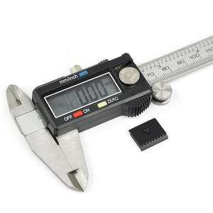 Precision Electronic Digital Caliper Extra Large LCD Screen Gauge Stainless Steel Vernier Caliper Micrometer 0-6 Inch/150 mm